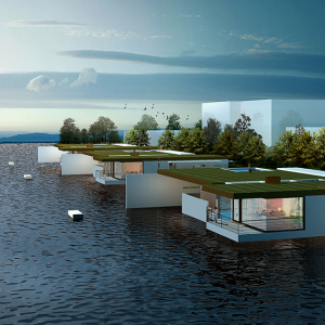 Waterfront Villas & Coastal Landscape